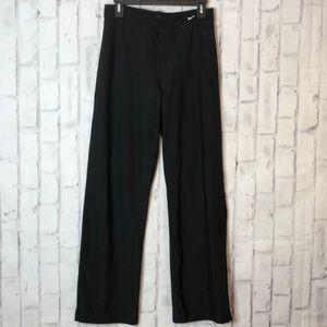 Nike Dri Fit Front Zip Athletic Pants Sz L